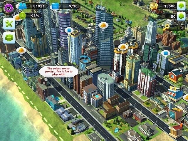 Astuce Simcity buildit