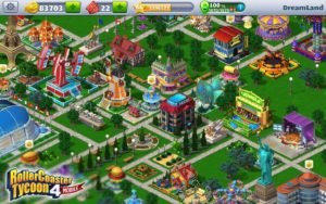 RollerCoaster Tycoon 4 Mobile astuce trich